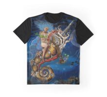 Twyla and the Unicorn Seahorse Graphic T-Shirt