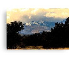 San Francisco Mountains Canvas Print