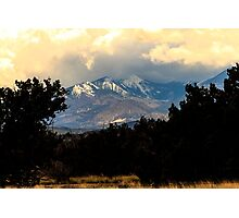 San Francisco Mountains Photographic Print