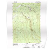 USGS Topo Map Washington State WA Wilkeson 244709 1956 24000 Poster