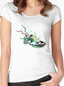 Octo-Sneak Women's Fitted Scoop T-Shirt