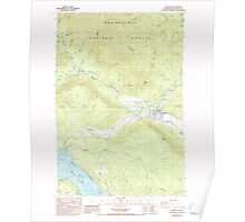 USGS Topo Map Washington State WA Morton 242409 1987 24000 Poster