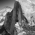 Half Dome from Glacier Point, Yosemite, California by Pete Paul