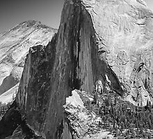 Half Dome from Glacier Point, Yosemite, California by Pete Paul