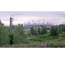 London 2012 Olympic Park Photographic Print