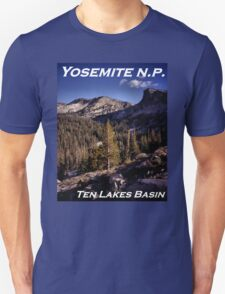 Ten Lakes Basin - Yosemite N.P. T-Shirt