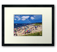 Tak'n It To The Beach Framed Print