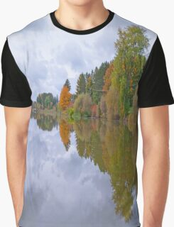 The Reflective Jewel Graphic T-Shirt