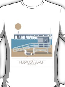 Beach Cities. Hermosa Beach T-Shirt
