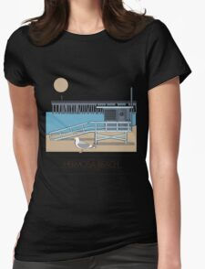 Beach Cities. Hermosa Beach Womens Fitted T-Shirt