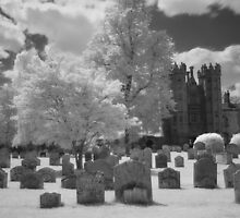 Hadleigh Churchyard & Deanery Tower by Christopher Cullen