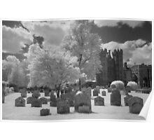 Hadleigh Churchyard & Deanery Tower Poster