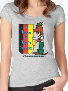I Know  a Little German Women's Fitted Scoop T-Shirt