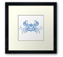 Zodiac Cancer Framed Print