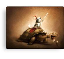 Knight of the Chinchilla Canvas Print