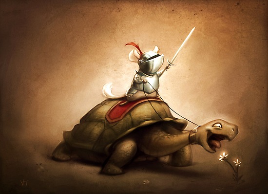 Knight of the Chinchilla by Vivienne To