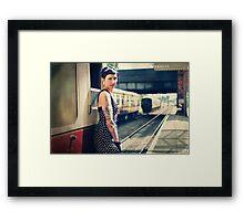 Sam5 Framed Print