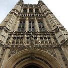 Looking up Westminster Abbey by dsimon