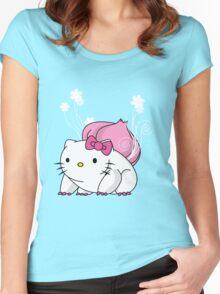 Bulbakittysaur Women's Fitted Scoop T-Shirt