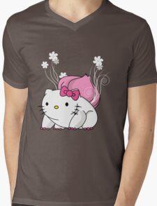 Bulbakittysaur Mens V-Neck T-Shirt