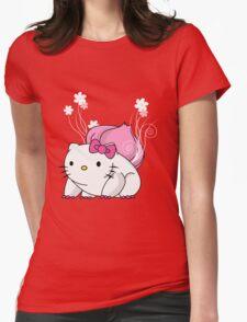 Bulbakittysaur Womens Fitted T-Shirt