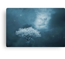 I Dream in Blue Canvas Print