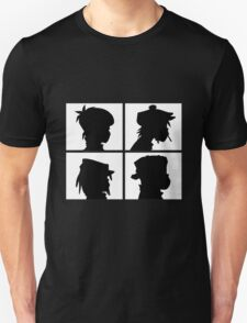 Gorillaz - Demon Days Silhouette T-Shirt