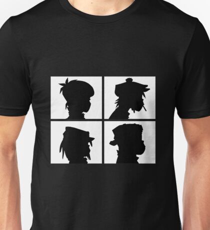 Gorillaz - Demon Days Silhouette Unisex T-Shirt