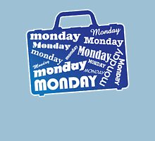 CASE OF THE MONDAYS Womens Fitted T-Shirt