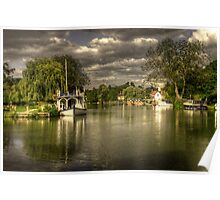 The River Thames at Streatley Poster