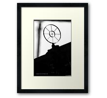 Aircraft Machine Gun Sight | Farmingdale, New York  Framed Print