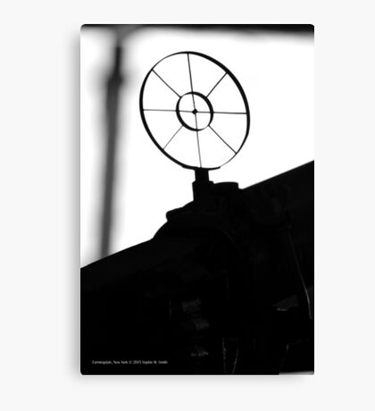 Aircraft Machine Gun Sight | Farmingdale, New York  Canvas Print