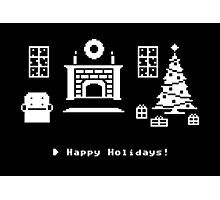 8-Bit Holiday Photographic Print