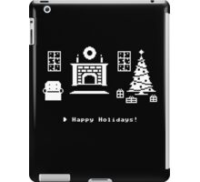 8-Bit Holiday iPad Case/Skin