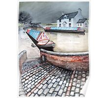 Mooring for a Working Boat  Poster