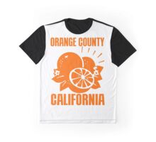 ORANGE COUNTY, CALIFORNIA Graphic T-Shirt