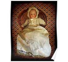 ANTIQUE VINTAGE DOLL-PILLOW-JOURNAL-TOTE BAG-PICTURE-ECT. Poster