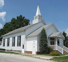 Mount Moriah Lutheran Church by Monnie Ryan
