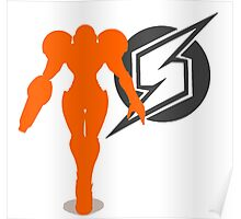Smash Bros - Samus Poster