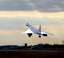 CONCORDE - G-BOAE - Landing at LHR (London Heathrow) on August 19th, 2003 by jsafford