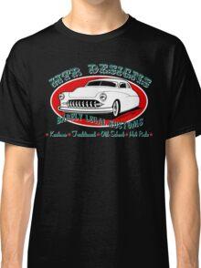 HTR Designs Barely Legal Kustoms garage Classic T-Shirt