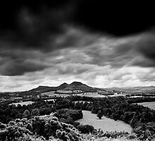 After the Storm, The Day of Thunder and Lightning, Scott's View, Scottish Borders by Iain MacLean