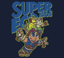 Super Eco Bros Baby Tee