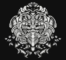 Mecha Viking Zombie Skull Trooper of Doom White by quakerninja
