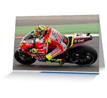 Valentino Rossi in Assen 2011 Greeting Card