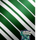Harry Potter Slytherin Colors/Logo by Em Herrera