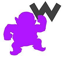 Smash Bros - Wario Photographic Print
