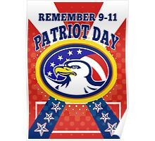American Eagle Patriot Day 911  Poster Greeting Card Poster