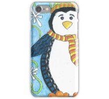 Pebble the Waddling Penquin iPhone Case/Skin