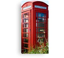The Red Telephone Box Canvas Print